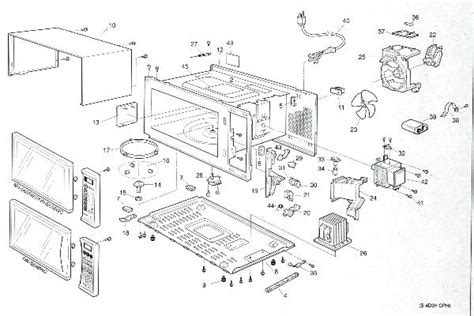 Ge Wiring Schematic Jvm 2 by Panasonic Microwave Parts Manual Bestmicrowave