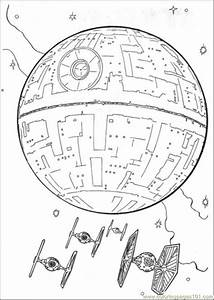 The Spaceship Coloring Page - Free Star Wars Coloring ...
