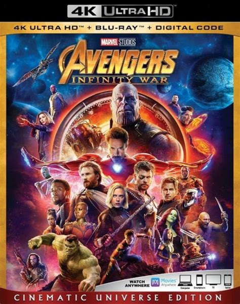'avengers Infinity War' Official Bluray Trailer Released