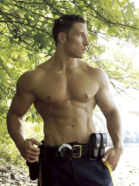 man  uniform hotness
