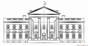 How to draw the White House | Step by step Drawing tutorials