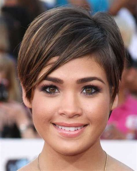 Pixie Hairstyles Fine Hair for Round Face 2018 2019   Page