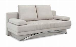 ivory microfiber modern sofa bed w wood base metal legs With ivory sofa bed