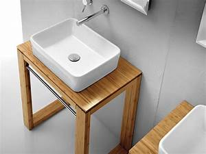 Tisch Für Aufsatzwaschbecken : waschtisch massivholz natur 70cm lineabeta f r waschbecken ~ Markanthonyermac.com Haus und Dekorationen