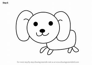 Learn How to Draw a Dog for Kids (Animals for Kids) Step ...