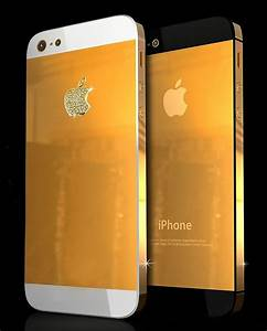Iphone 5 Now Available In Solid Gold