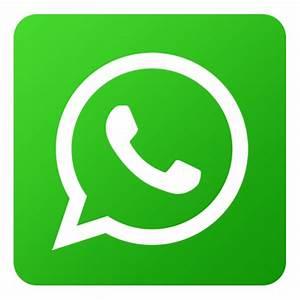 WhatsApp Icon - Flat Gradient Social Icons - SoftIcons.com