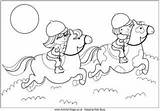 Horse Riding Coloring Pages Colouring Hand Quilting Horses Activityvillage sketch template