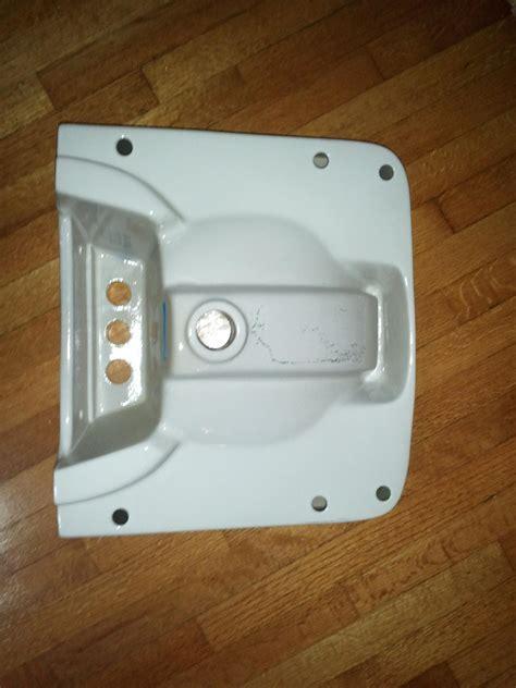 glacier bay wall mount sink plumbing how do i install this wall mount bathroom sink