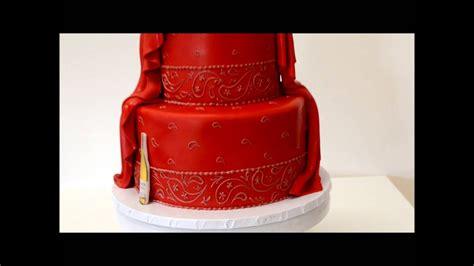 bandana design cake youtube