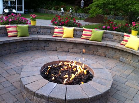 pit on patio backyard patio ideas with fire pit landscaping gardening ideas
