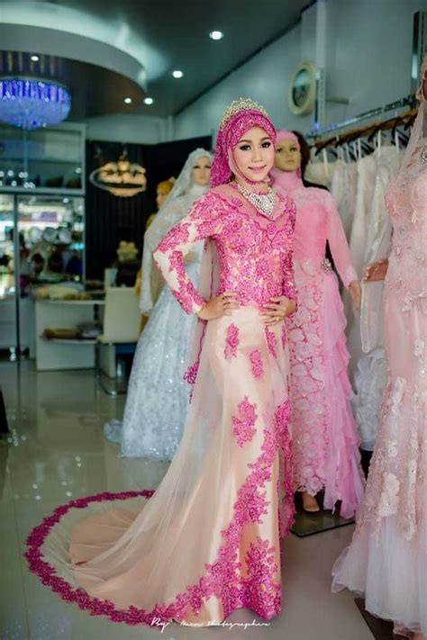model kebaya muslim modern terbaru  desain terpopuler