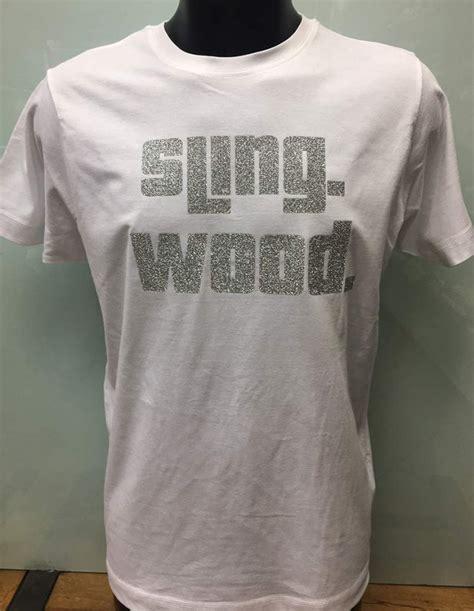 glitter print custom t shirt printing