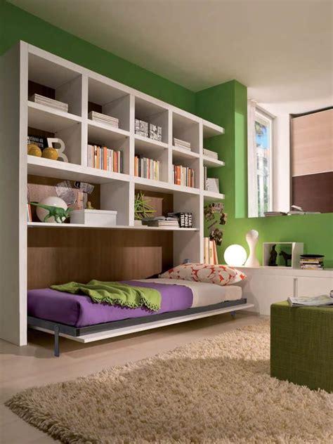 libreria letto a scomparsa salvaspazio con letto a scomparsa ls02 marzorati camerette