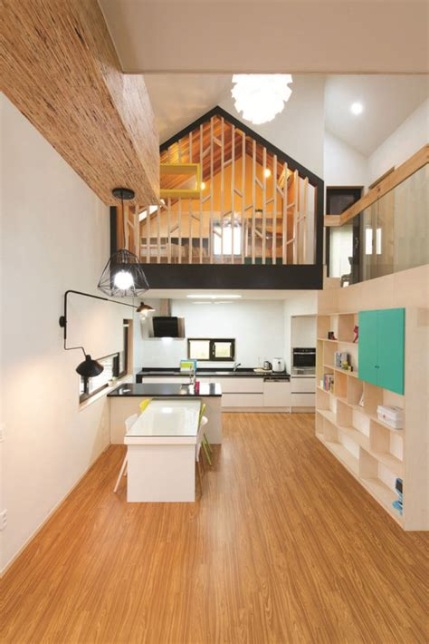 modern  shaped house  south korea idesignarch interior design architecture interior
