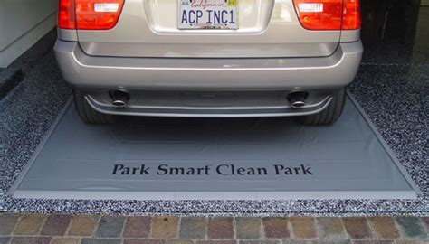 Auto Care.com   Clean Park Protector Strips   Garage Mat
