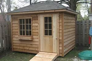 Cabanon En Bois : cabanons canadiens en bois cabanon mercier ~ Premium-room.com Idées de Décoration