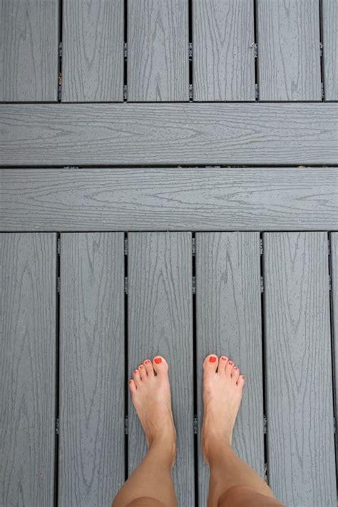 Grey Plastic Decking Boards