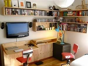Schreibtisch Im Wohnzimmer Integrieren : die wohngalerie wandbefestigter klapptisch als schreibtisch ~ Bigdaddyawards.com Haus und Dekorationen