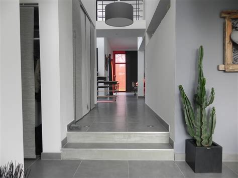 cuisine inox bois maison avec interieur type loft les architecteurs