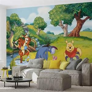 Winnie Pooh Wandtattoo Xxl : disney winnie pooh tigger eeyore piglet fotobehang behang bestel nu op ~ Bigdaddyawards.com Haus und Dekorationen