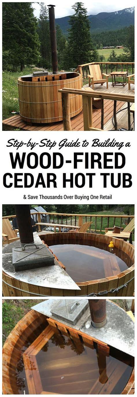 inexpensive diy sauna  wood burning hot tub design ideas
