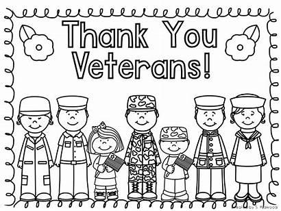 Veterans Coloring Pages Thank Veteran Printables Printable