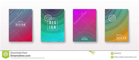 Vector Illustration Of Bright Color Abstract Pattern With