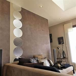 deco mur salon moderne With exceptional cuisine mur rouge meuble blanc 15 deco salon miroir