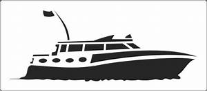 Power boat stencil to buy online