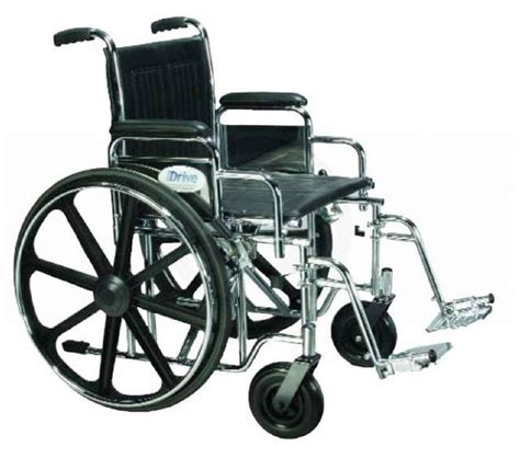 Invacare Bariatric Transport Chair by Drive Sentra Bariatric Heavy Duty Wheelchair