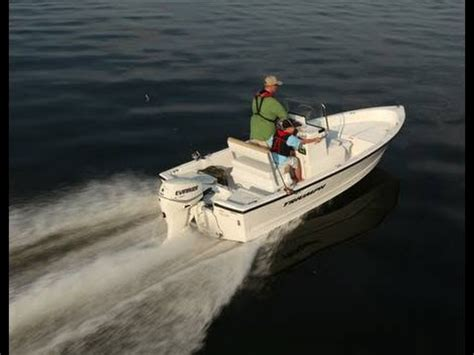 Triumph Boats Youtube by Triumph 170 Center Console With Yamaha 75hp Outboard Youtube