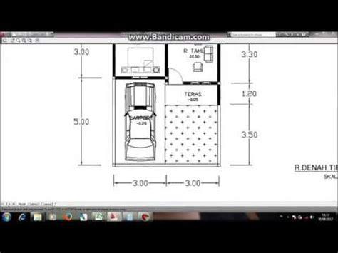 tutorial bikin denah rumah type   youtube