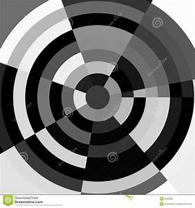 Black And White Abstract Target Royalty Free Stock Photo ...