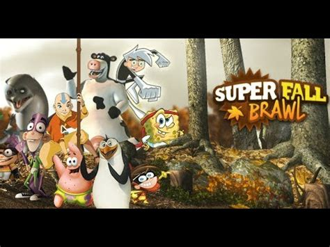 spongebob super fall brawl spongebob lose youtube