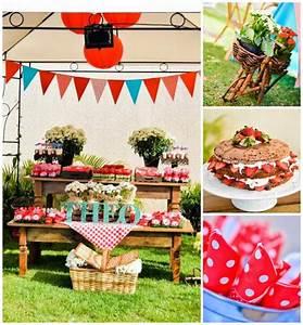Kara's Party Ideas Garden Picnic Party Ideas Planning Idea