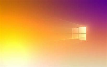 Windows Pride Wallpapers Desktop Orange Parede Microsoft