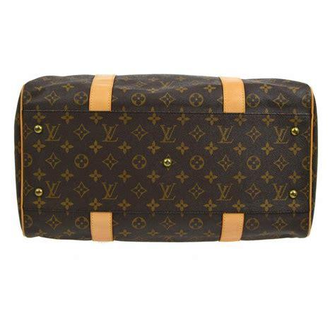 louis vuitton monogram mens womens small travel duffle carryall top handle bag  sale  stdibs