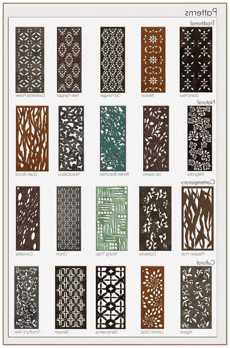 laser cut metal panels  screens