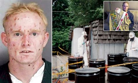 Uh-oh! 'Radioactive Boy Scout' who built a nuclear reactor in his Detroit shed sparking ...