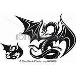 Dragon Fantasy Drage Fantasien Tattoo Clip Drawings