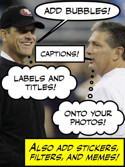 Meme Caption Font - comic caption creator lite photo text meme maker on the app store