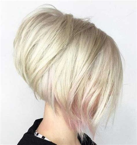 stacked bob haircuts  sophisticated short haired women
