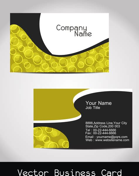 lic visiting cards sample  vector