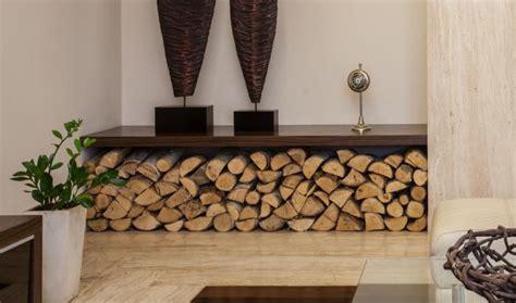 coussin décoratif pour canapé le range buches décoratif idées magnifiques en 40 photos