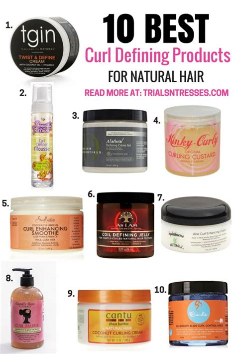 curl defining products  natural hair