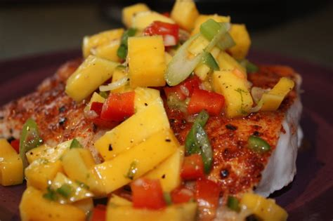 mango salsa snapper recipes food recipe fish grouper trigger seychelles different baked grilled chicken dishes seafood flavor firm wonderful cooking