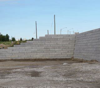 Durahold Retaining Wall by Home Depot Warehouse Unilock Commercial