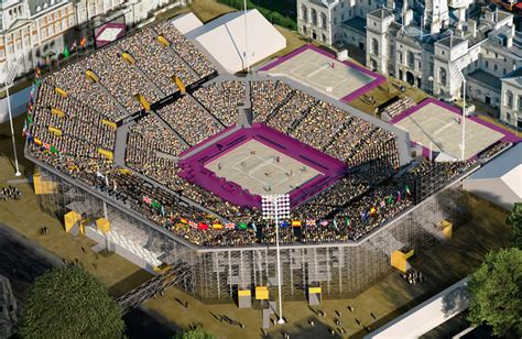populous and atkins: beach volleyball stadium london 2012