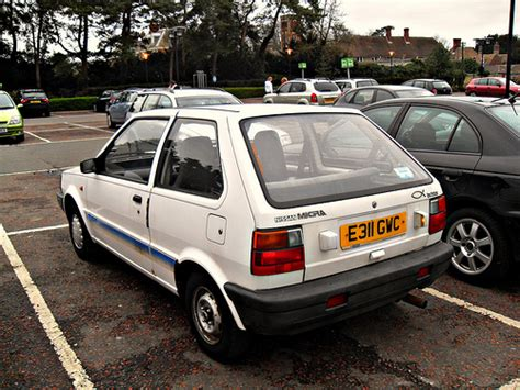 1988 Nissan Micra 1.0 LS (K10) | Driven probably by a ...
